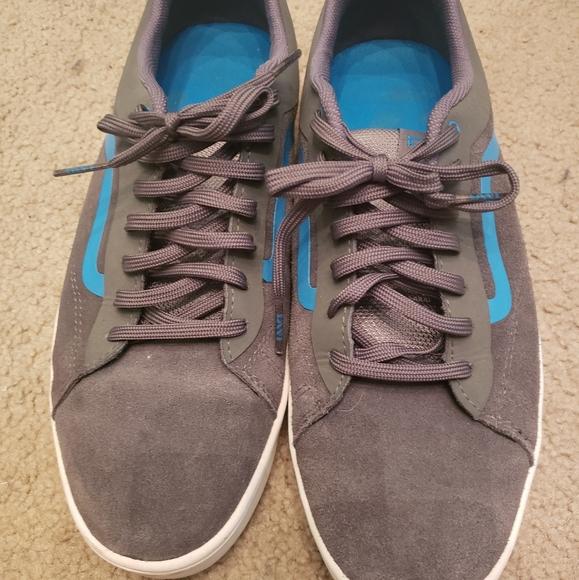 Blue & Grey Vans